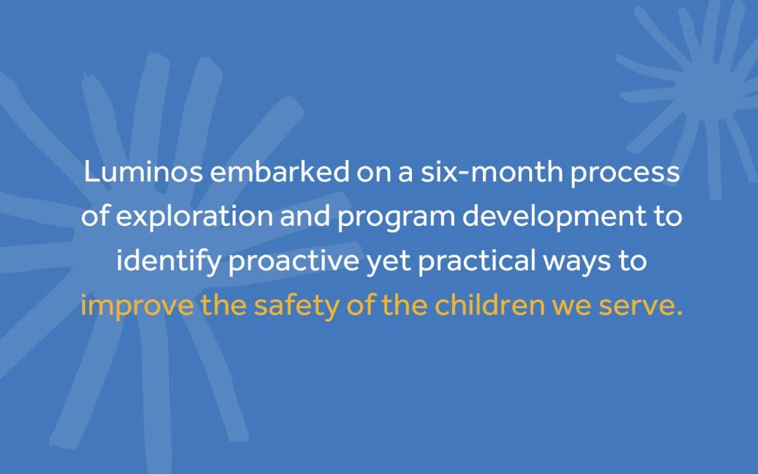 Child Protection at Luminos