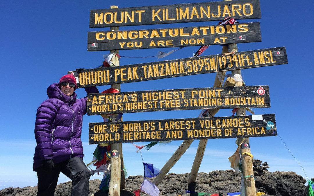 On Top of the World: Ruth Wynne's Kilimanjaro Climb