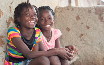 Two students from the 2018-19 Second Chance program in Liberia.