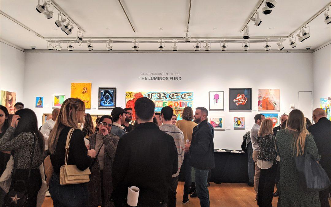 Christie's raises $80,000 for Luminos at trailblazing art exhibition