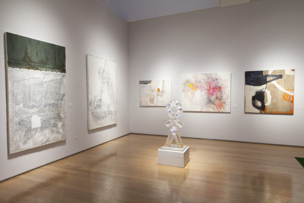 Works by Ho Jae Kim, Lina Condes, and Wendy Silverman at Christie's Educate Exhibition