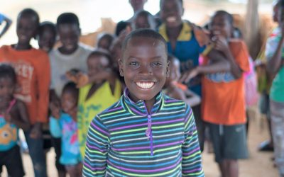 Luminos Second Chance student, James, in Liberia