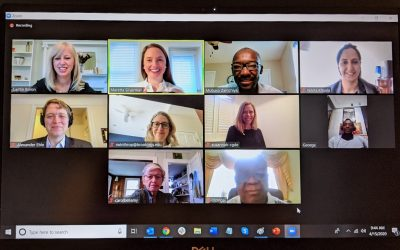 Our first Advisory Board meeting was on Zoom