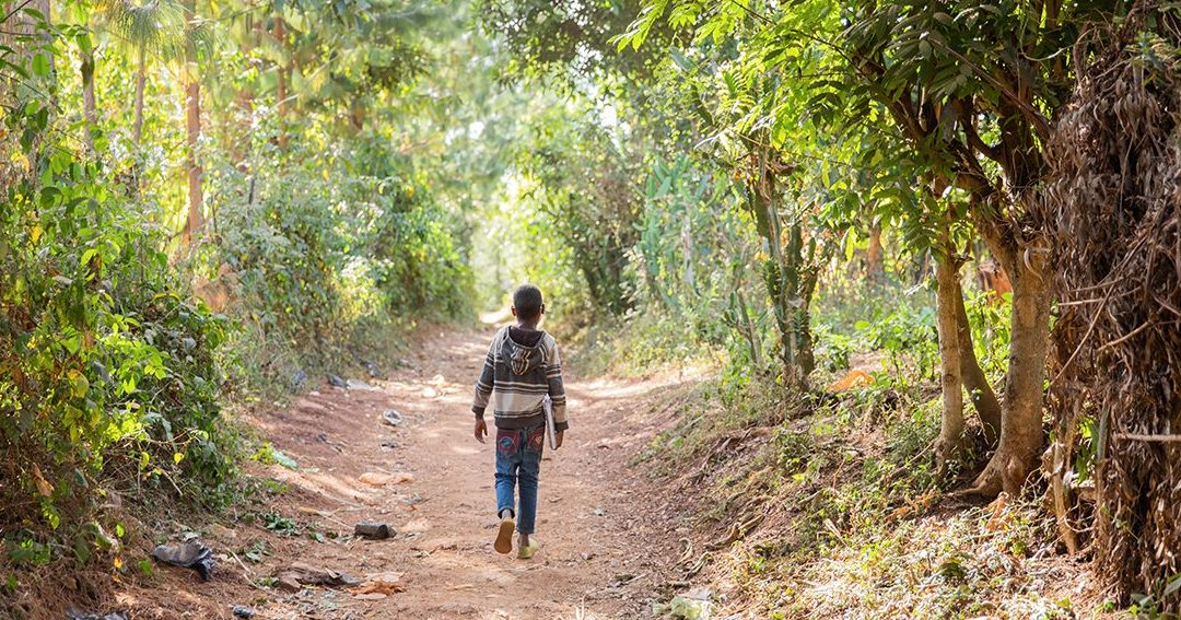 Anteneh's Journey from Goat Herder to Student