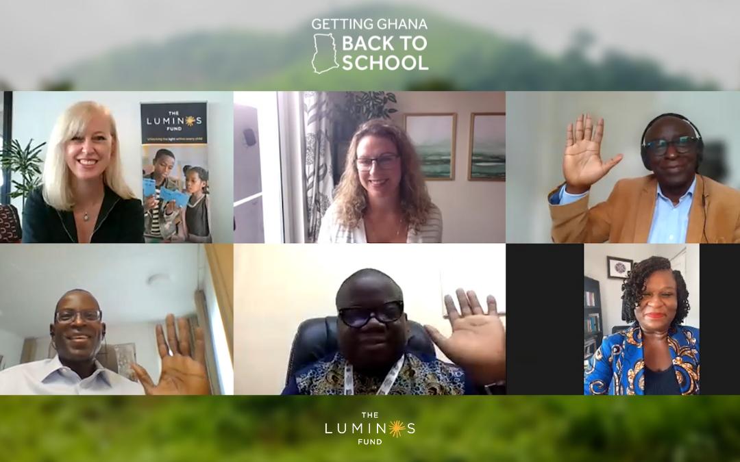 "Event Recap: ""Getting Ghana Back to School"""
